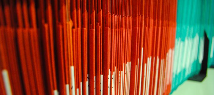 ECTU orange and green folders
