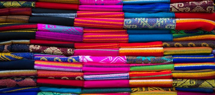 Ecuadorian traditional fabric