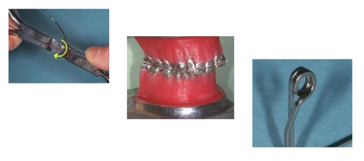 images of wirecutters, silver teeth, round wire