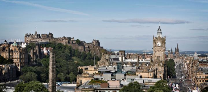 Image of edinburgh skyline