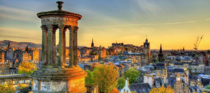 Edinburgh Skyline photograph