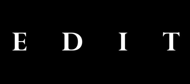 Edit magazine logo