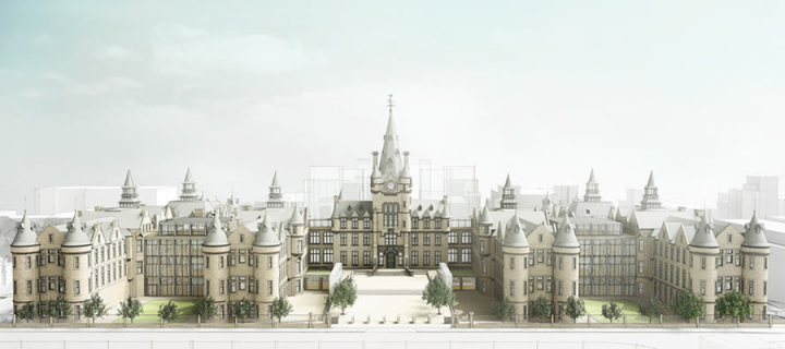 Edinburgh Futures Institute - artists impression