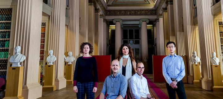 ERC academics in Playfair Library Annual Review 2016-17