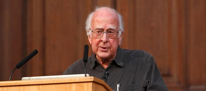 An Audience with Professor Peter Higgs
