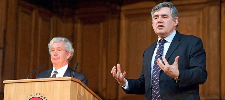 Rt Hon Gordon Brown gives his Gifford Lecture