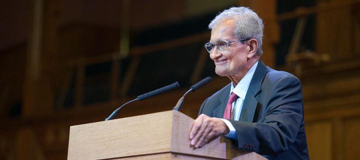Professor Amartya Sen lecture