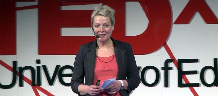 Dee Isaacs presents her TedX lecture