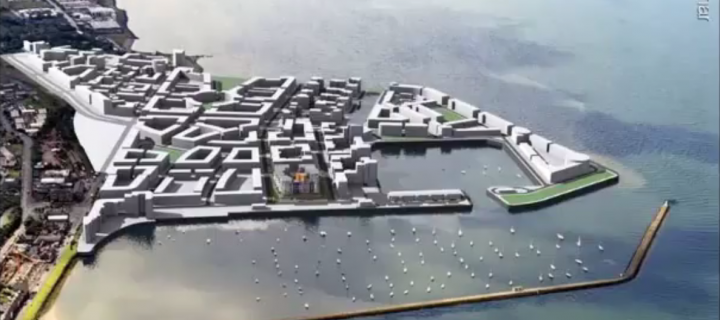 image of proposed granton harbour