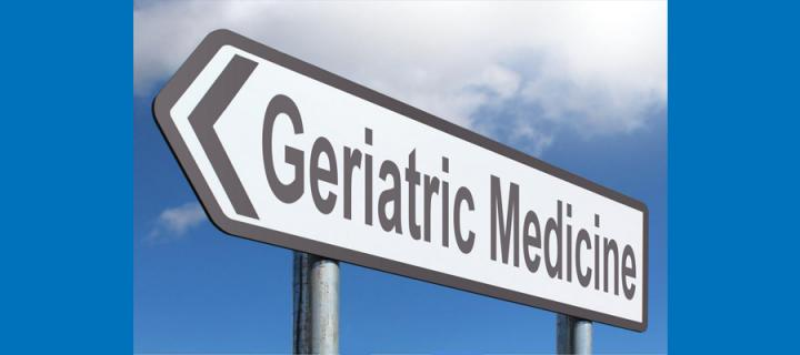 street sign saying Geriatric Medicine