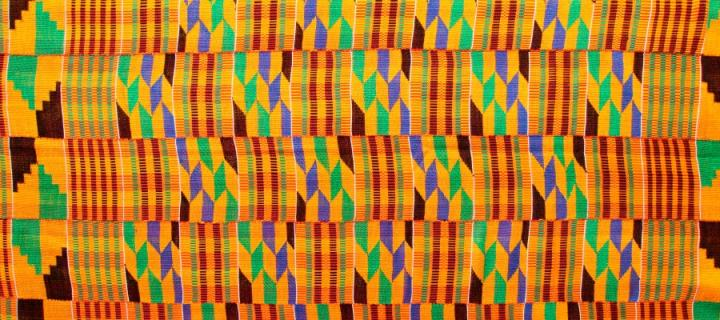 Ghanaian fabric