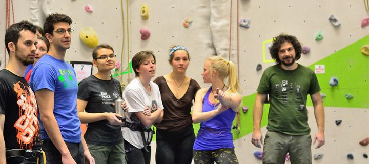 Group climbings