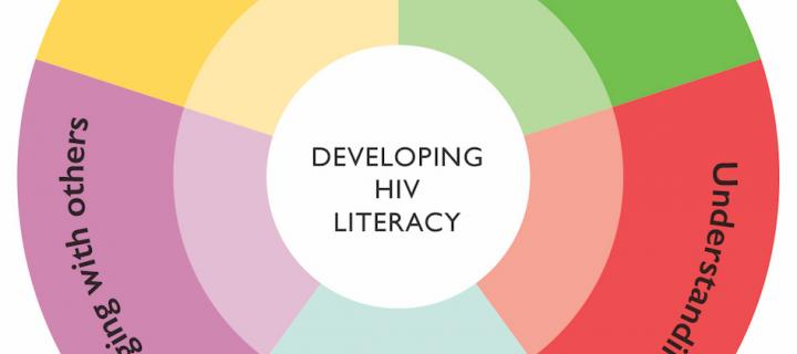 graphic showing areas of HIV literacy
