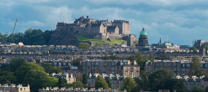 IGMM top floor Edinburgh view