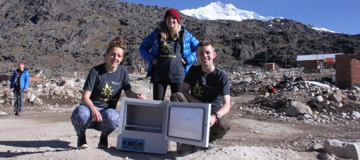 Apex 5 team during the expedition