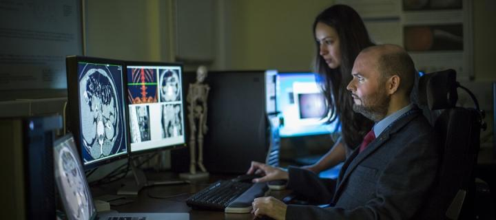 Brain imaging at the Clinical Research Imaging Centre