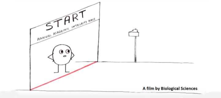 A still from the In your own words animated film