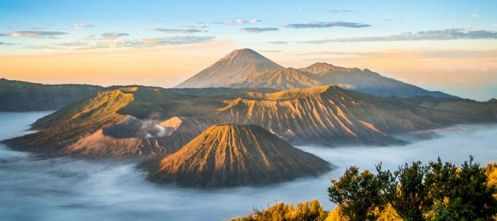 Indonesian mountains