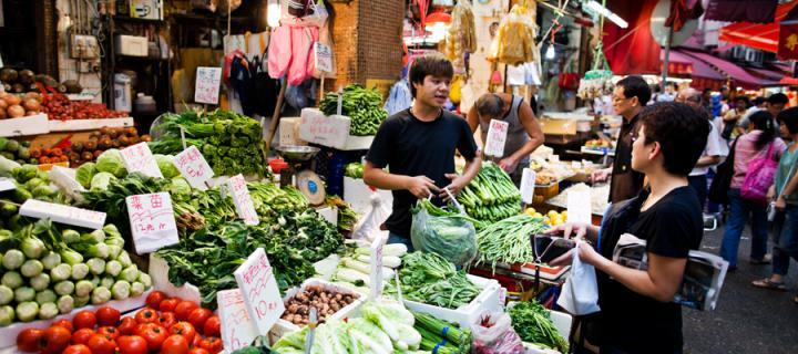 Image of Chinese market