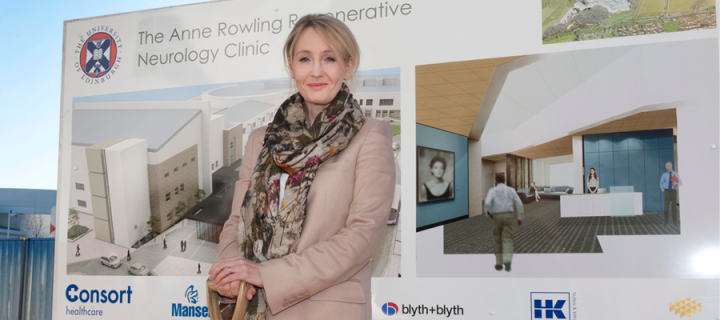 J.K. Rowling donates £15m to MS research