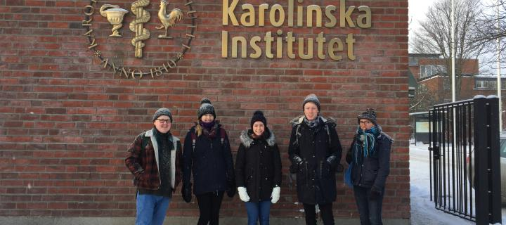Precision Medicine students at the Karolinska Institute