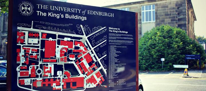 Map of Kings Buildings