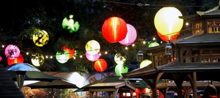 Lanterns in George Square