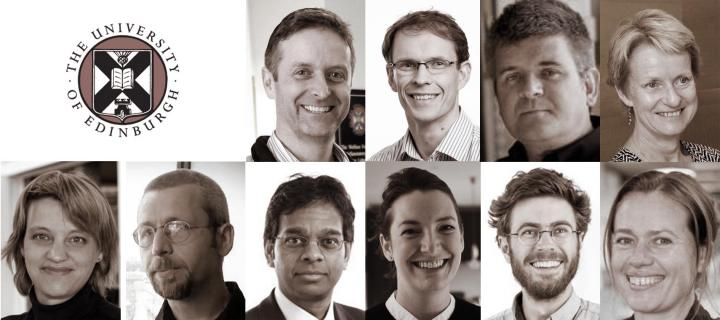 Profile pictures of the Programme Leadership Team