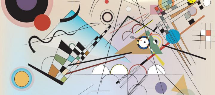 Vasily Kandinsky - Composition 8