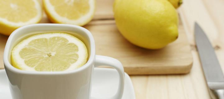 hot lemon drink, cold and flu remedy