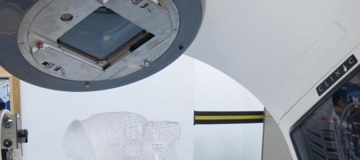 A close up view of the LINAC.