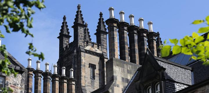 The roof of New College