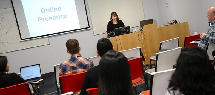 Dr Louise Connelly on creating an effective online presence for research & impact.