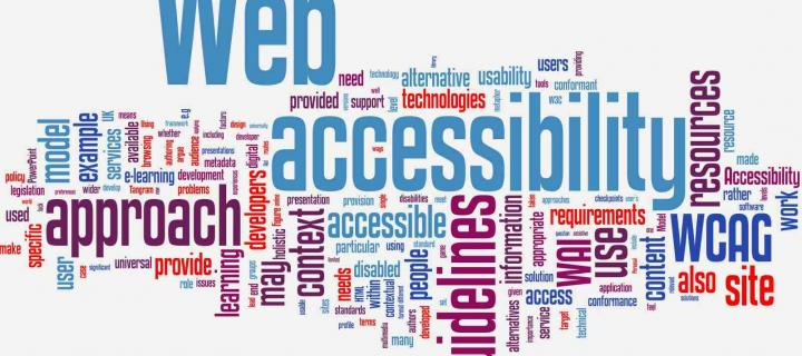 accessibilty word cloud