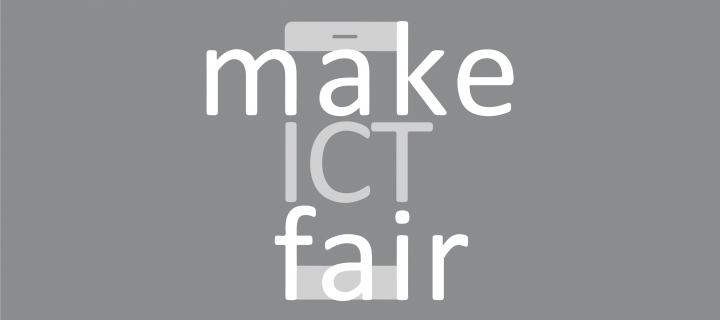 Make ICT fair logo