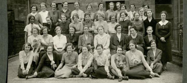 Masson Hall residents, 1935
