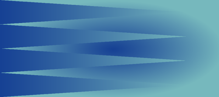 Blue background with triangle pattern
