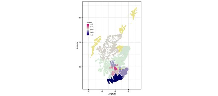 Body Mass Index Distribution in Scotland
