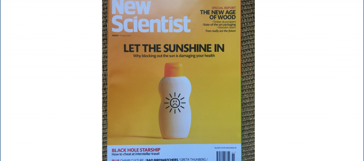 New Scientist featuring Richard Weller's work from the CIR