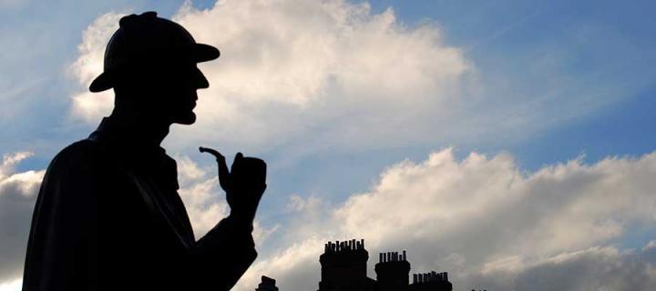 Sherlock Holmes figure
