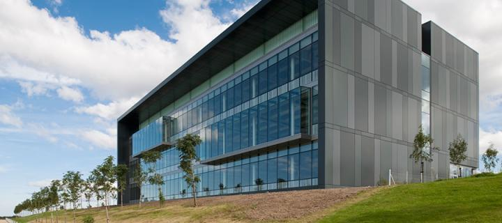 Nine BioQuarter Building in Edinburgh
