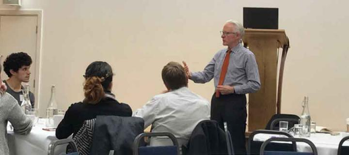 Picture of Norman Lamb MP at an event