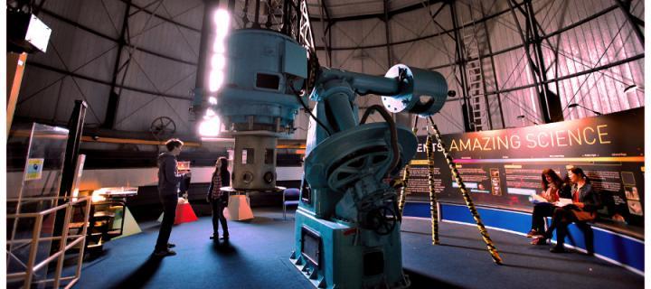 inside an observatory