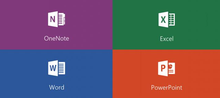 OneNote and Office Online logos