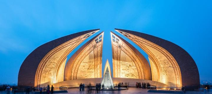 Pakistan geometric building