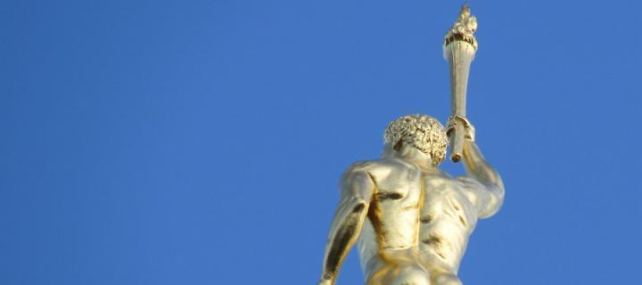 Golden Boy statue