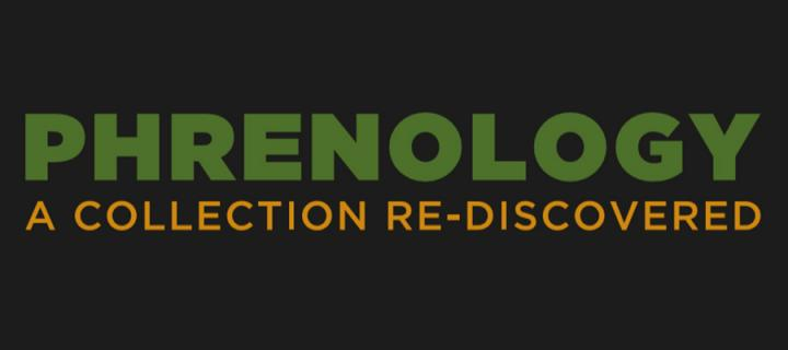 Phrenology exhibition logo