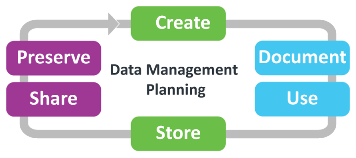 Data Management Planning diagram