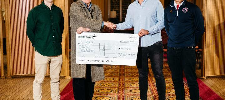 Presentation of cheque for MND