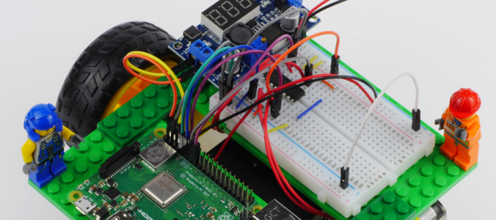Student makes DIY robotics look as easy as Pi